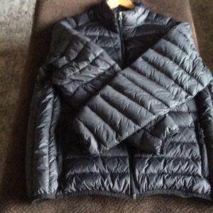 New Saks Fifth Avenue Puffy Jacket Black Size XL